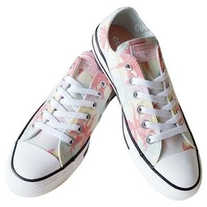 Converse | All*Star Tropical Print Low Tops size 3